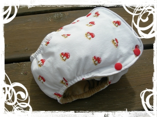 tater cakes fitted diaper